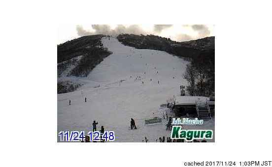 Kagura webcam at lunchtime today