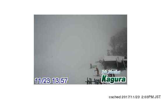 Kagura webcam at 2pm yesterday