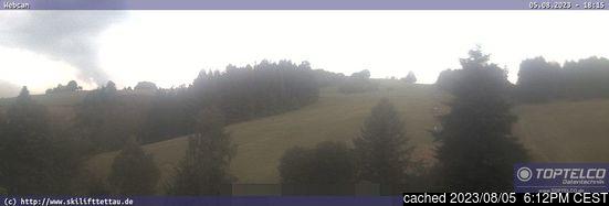 Live Snow webcam for Tettau