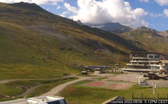 Live webcam per Tignes se disponibile