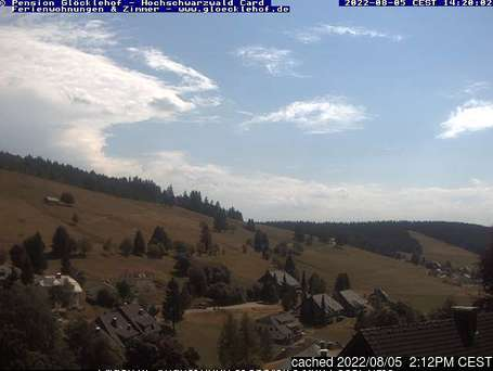 Todtnauberg webcam at lunchtime today