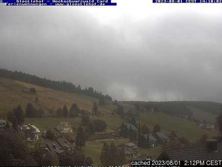 Todtnauberg webcam at 2pm yesterday