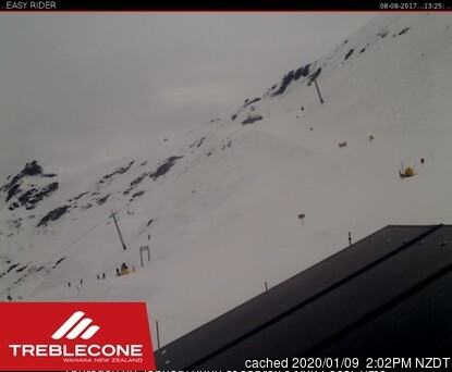 Treble Cone webcam at lunchtime today