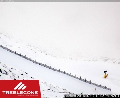 Treble Cone webcam at 2pm yesterday