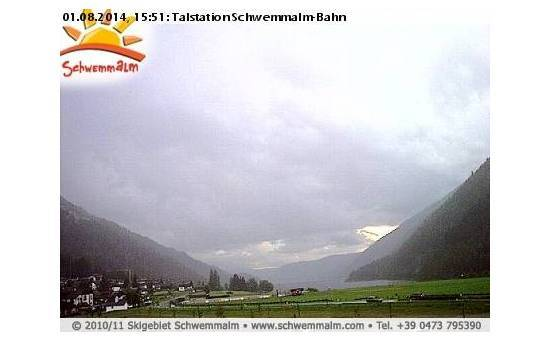 Val d'Ultimo/Schwemmalm webcam at 2pm yesterday