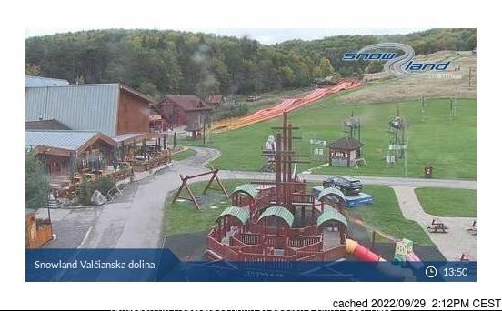 Valčianska dolina webcam at lunchtime today