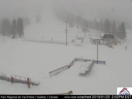Val d'Irène webcam at 2pm yesterday