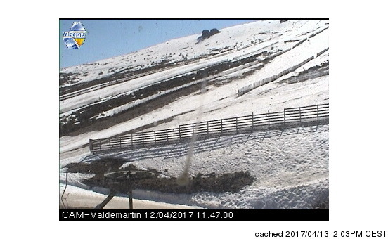 Valdesqui webcam at lunchtime today