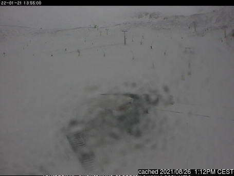 Valdezcaray webcam at lunchtime today