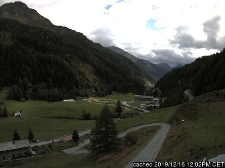 Valgrisenche webcam at lunchtime today