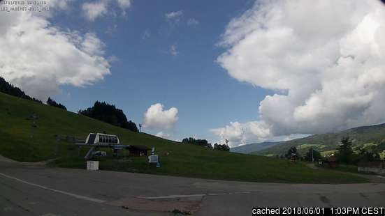 Les Habères webcam at lunchtime today