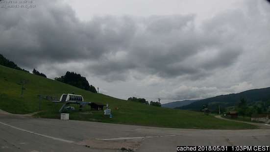 Les Habères webcam at 2pm yesterday