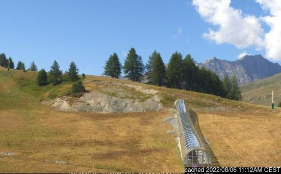 Valloire webcam at lunchtime today