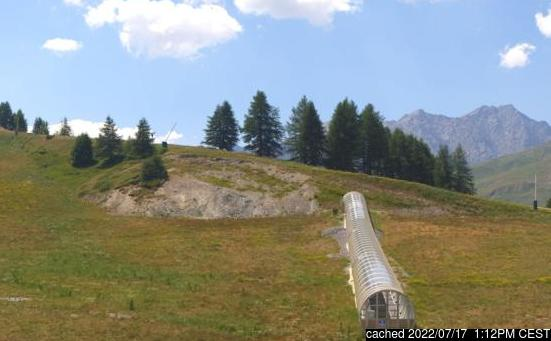Live Snow webcam for Valloire