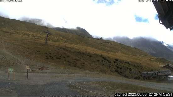 Webcam de Vallorcine à midi aujourd'hui