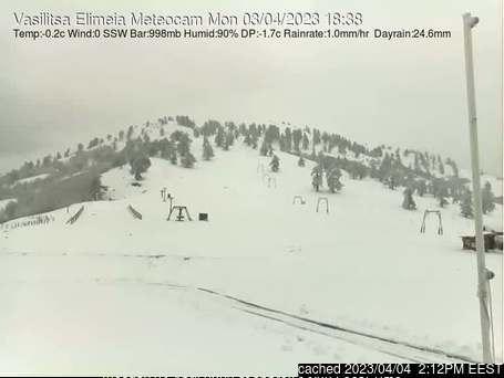 Webcam de Vasilitsa à midi aujourd'hui