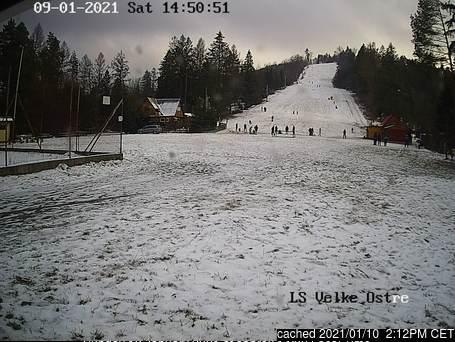 Veľké Ostré webcam at lunchtime today