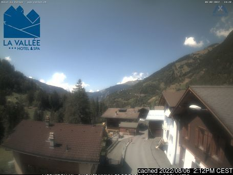 Verbier webcam at 2pm yesterday