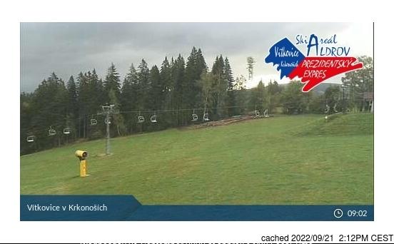 Webcam de Vítkovice - Aldrov à midi aujourd'hui