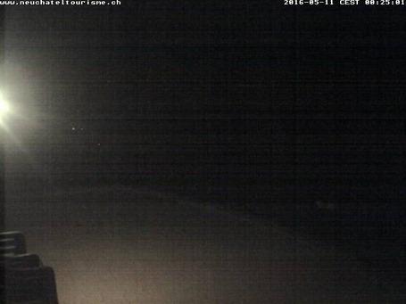 Webcam de Vue des Alpes - Tête de Ran à midi aujourd'hui