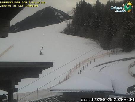 Walchsee/Zahmer Kaiser webcam at 2pm yesterday