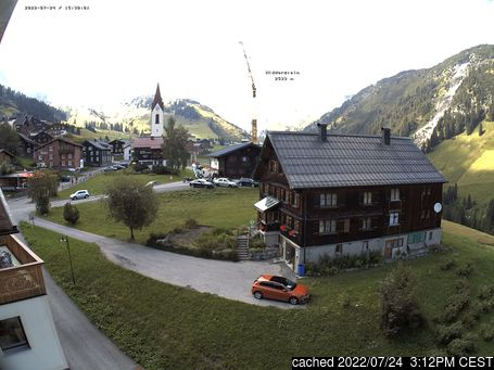 Live Snow webcam for Warth-Schröcken