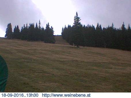 Weinebene webcam at 2pm yesterday