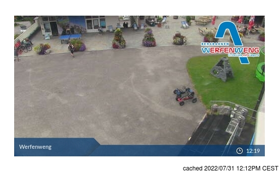 Live Snow webcam for Werfenweng