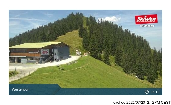 Westendorf webcam at lunchtime today