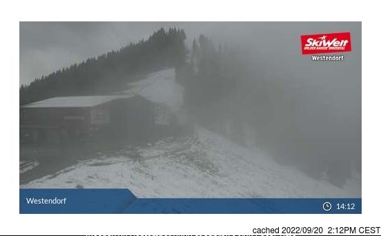 Westendorf webbkamera vid kl 14.00 igår