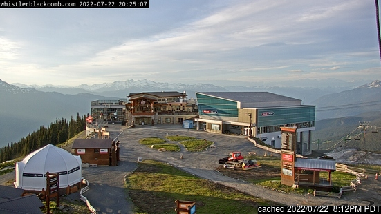 Live Snow webcam for Whistler