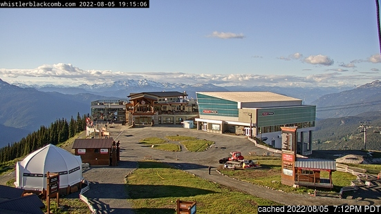 Live webcam per Whistler se disponibile