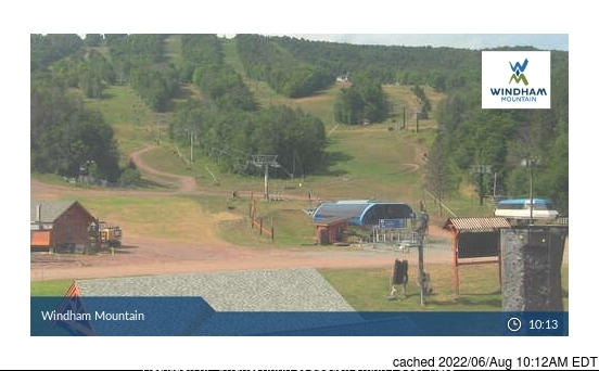 Windham Mountain webcam at lunchtime today