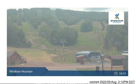 Webcam de Windham Mountain à midi aujourd'hui