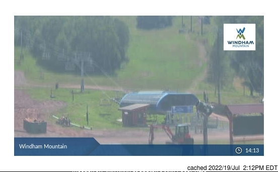 Webcam de Windham Mountain a las 2 de la tarde hoy
