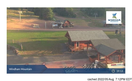 Live Snow webcam for Windham Mountain