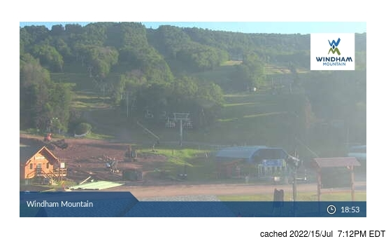Live webcam para Windham Mountain se disponível
