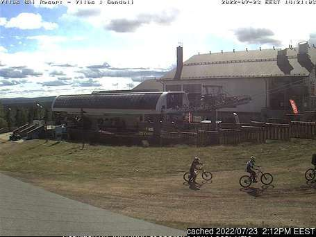 Yllas webcam at lunchtime today