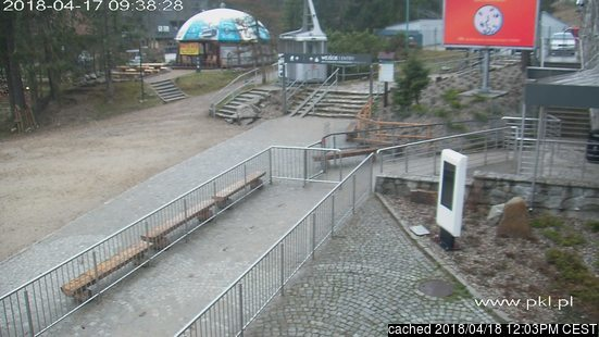 Zakopane webcam at lunchtime today