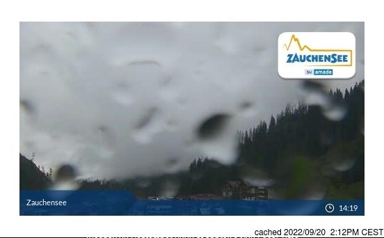 Zauchensee webkamera ze včerejška ve 14 hod.