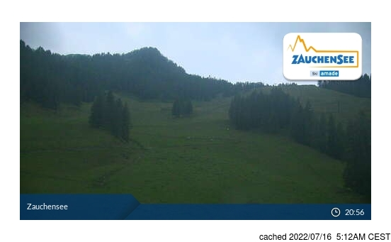 Live Snow webcam for Zauchensee