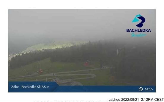 Ždiar - Bachledova Dolina webcam at lunchtime today