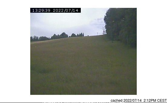 Zdobnice webcam at 2pm yesterday