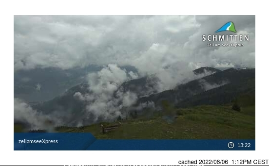 Zell am See webcam at lunchtime today