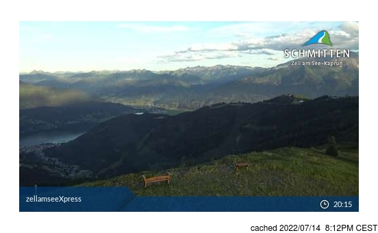 Live Snow webcam for Zell am See