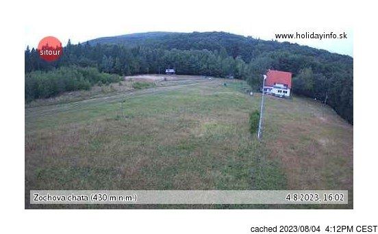 Live Snow webcam for Zochova chata - Piesok