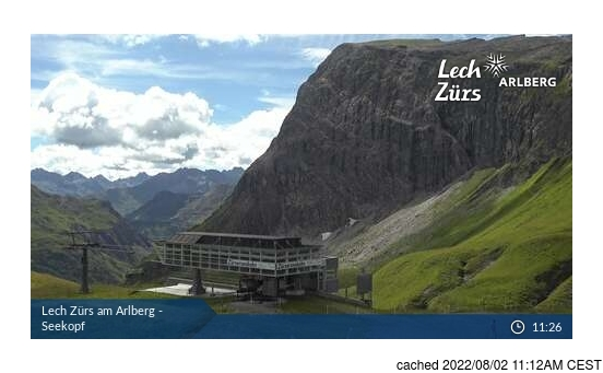 Live webcam per Zurs se disponibile